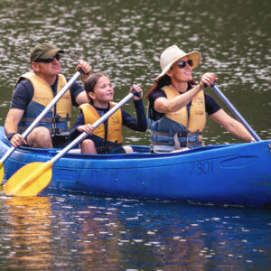 3 Person canoes