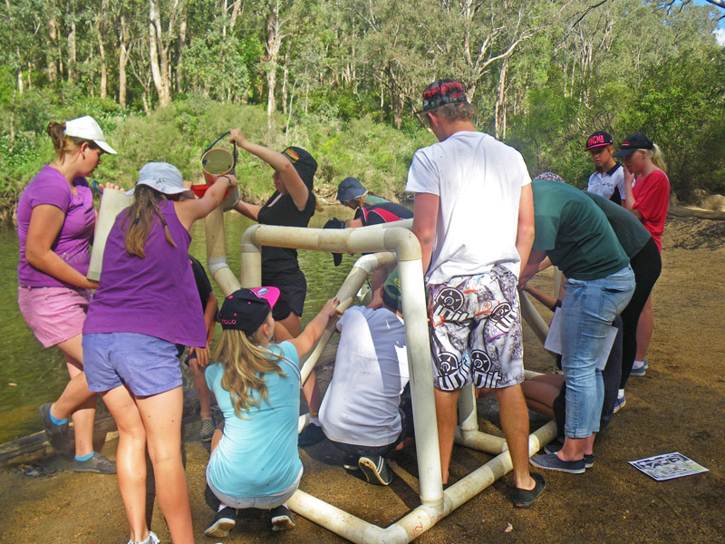 pipe-o-meter dwellingup adventures youth camp activities