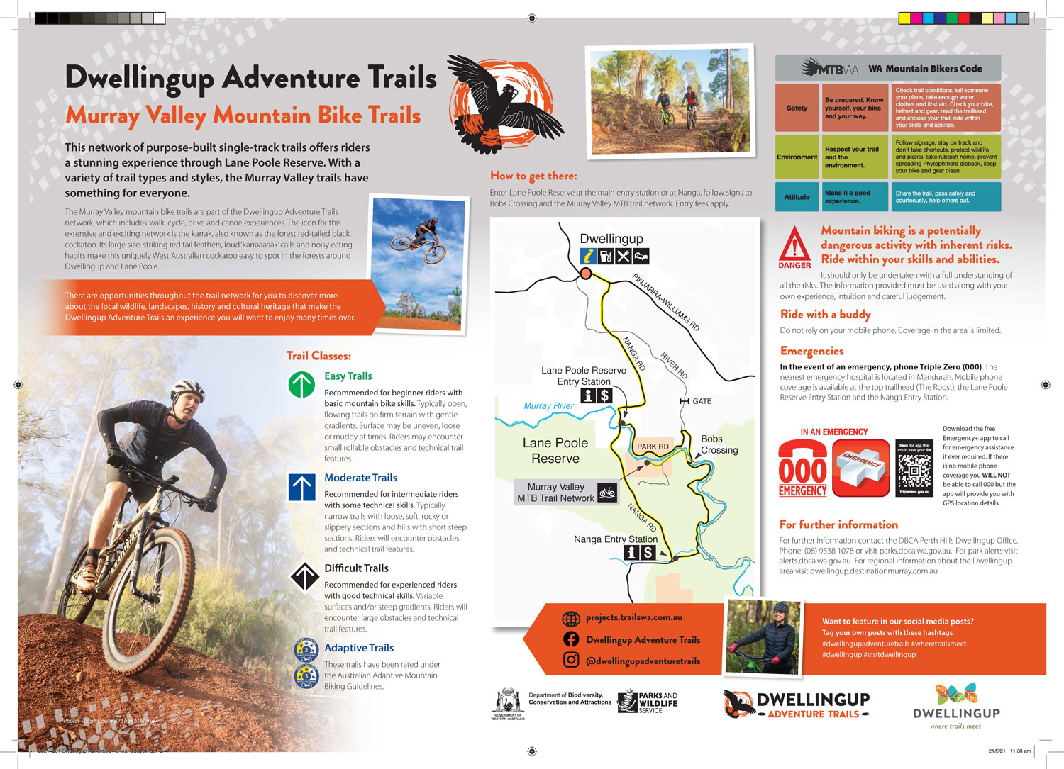 Marrinup Trail Guide
